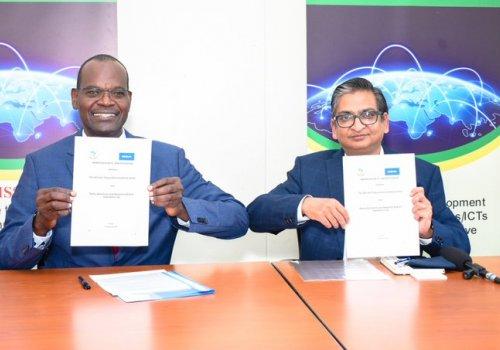 L'Union africaine des télécommunications et Nokia signent un accord de collaboration sur la transformation numérique.
